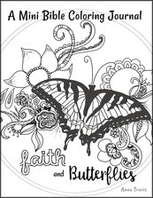 Free Bible Coloring Journal at Sweet Messy Faith.com!