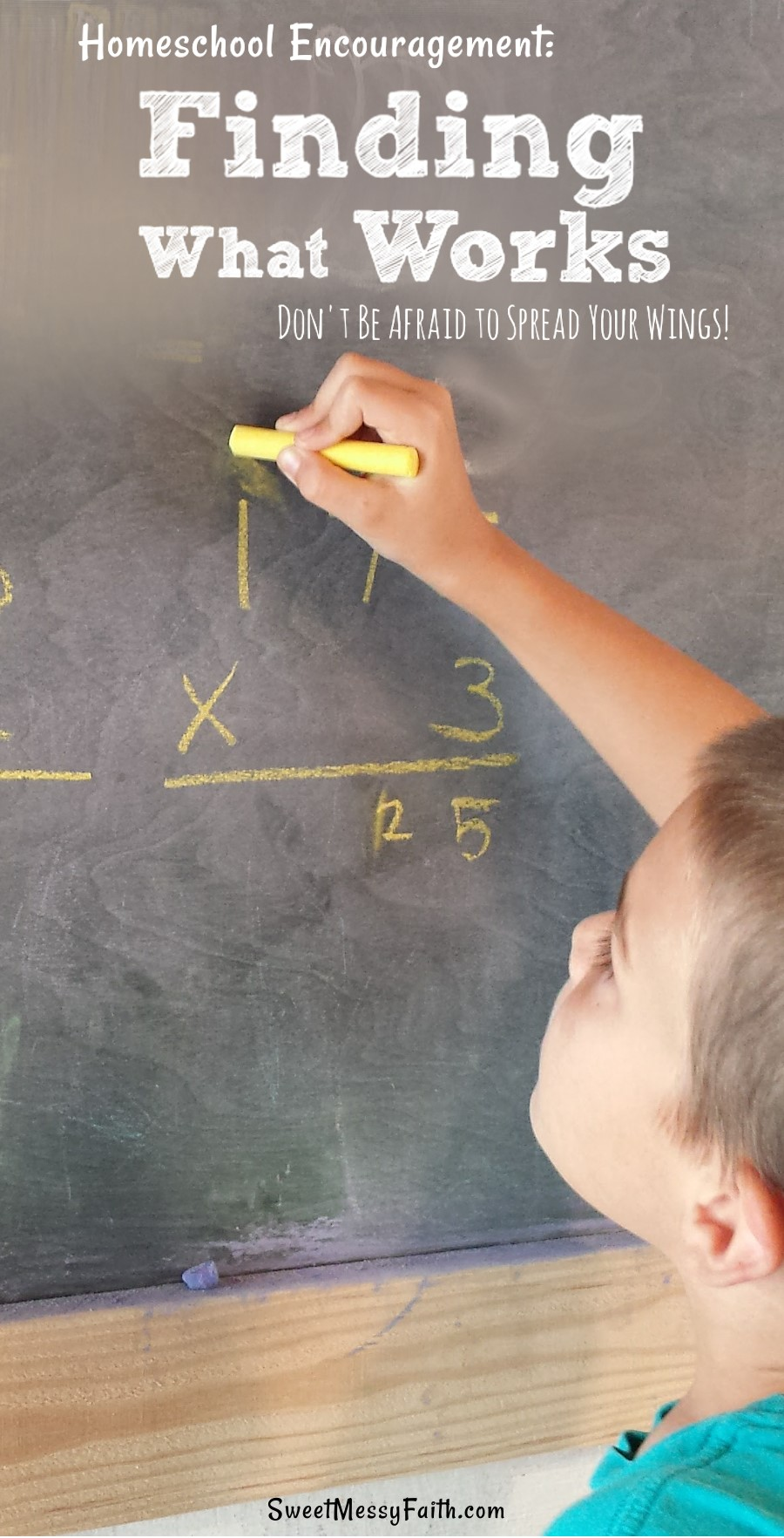 One mama's crazy math approach may raise eyebrows, but it works wonders for her kids! Homeschool Encouragement.