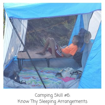 Six Things You Need to Know BEFORE you take your kids camping!
