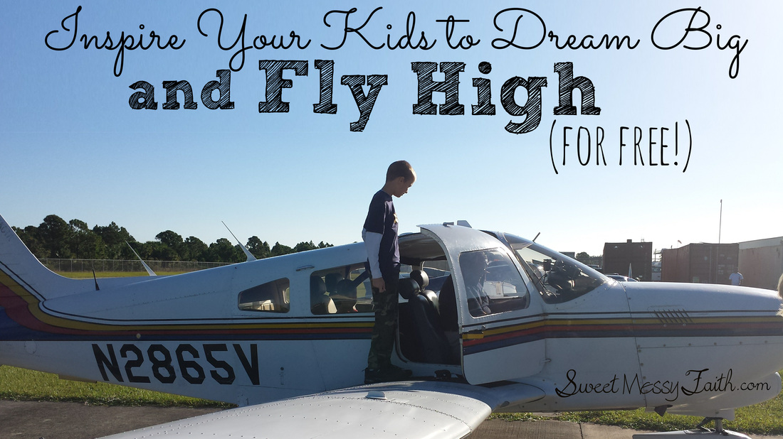 I want to encourage my kids to dream big!